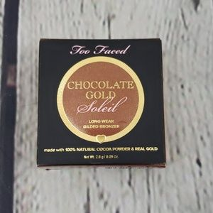 TOO FACED CHOCOLATE GOLD SOLEIL BRONZER LUMINOUS